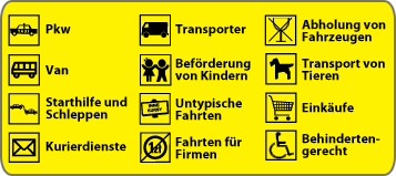 oferta taxi